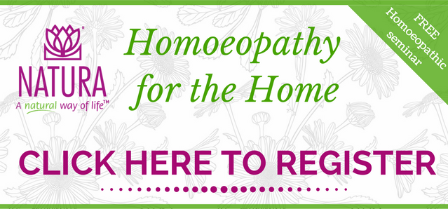 Registration for HOMOEOPATHY FOR THE HOME Free Workshop